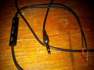 n1 headphone jacket stripped